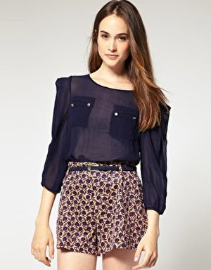 Fall Trend 2011 Navy Blue
