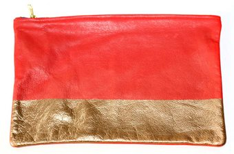 How to Make a Gold Clutch