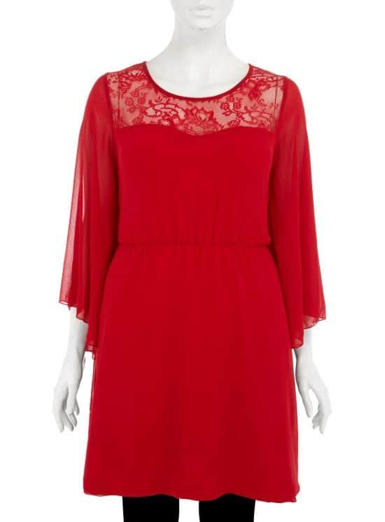 Evans Red Dress