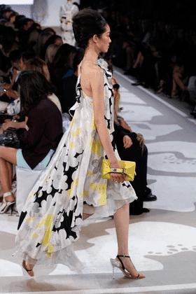 Floral Mullet Skirt