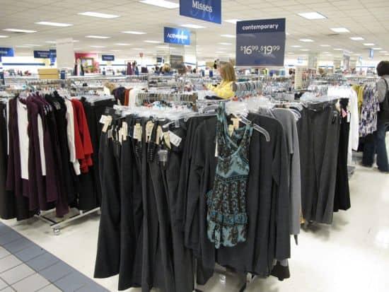Closest marshalls clothing store