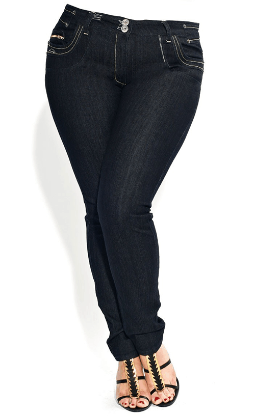 Plus Size Jean Styles | The Budget Fashionista