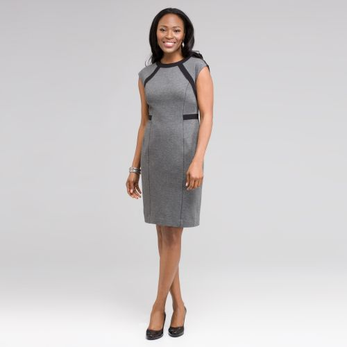 Zigzag Sheath Dress