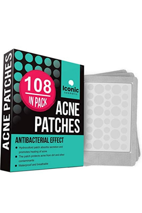 Iconic pimple patch