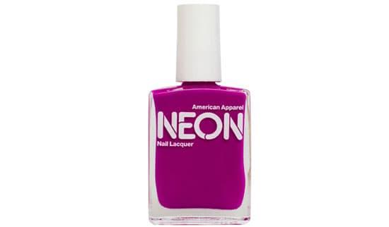 American Apparel Neon Nail Lacquer