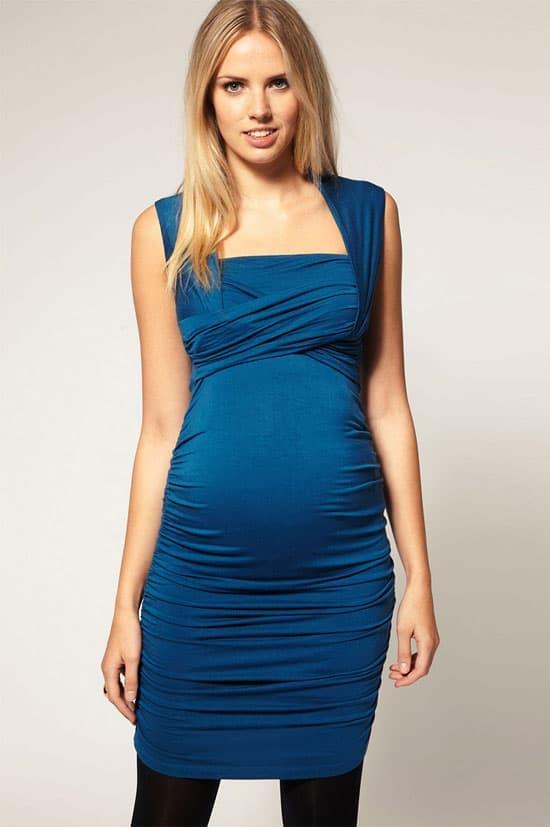Asos Wrap Maternity Dress