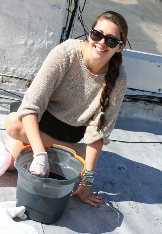 Dye Bucket Skirt