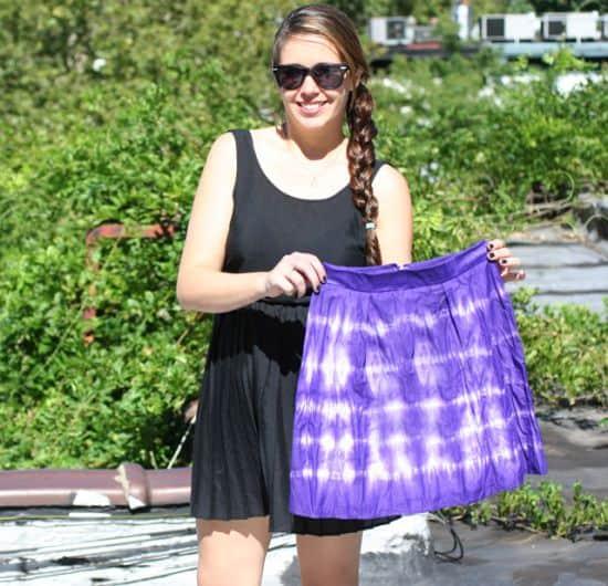 Dyed Skirt