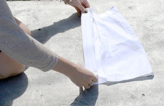 Fold Skirt