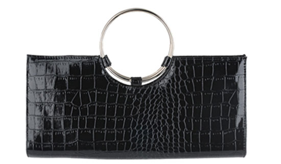 Forever 21 Croc Clutch