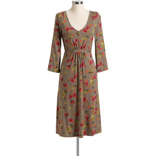 Gray Kimono Dress