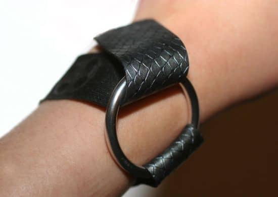 Leather Bracelet Step 2