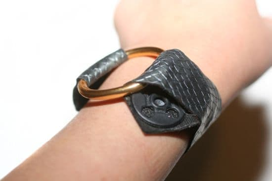 Leather Bracelet Step 4