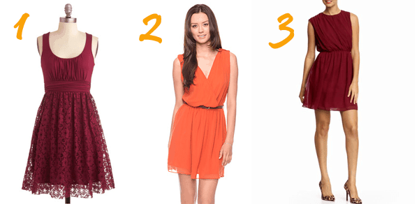 Appropriate Fall Dresses For Weddings What to Wear to A Fall Wedding