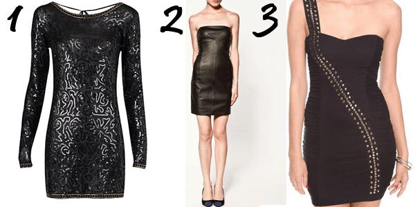 Black Mini-dresses