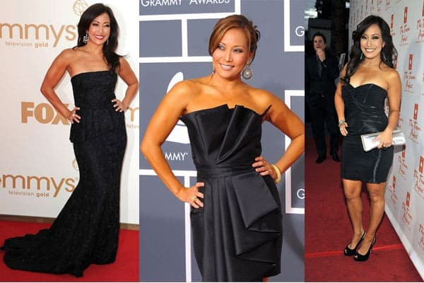 Carrie Ann Inaba Black Dress
