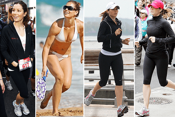 Jessica Biel Staying Fit