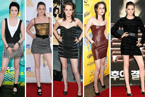 Kristen Stewart Mini-dresses