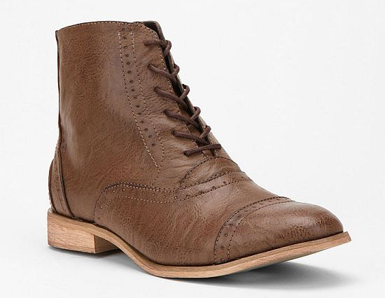 Menswear Inspired Boots
