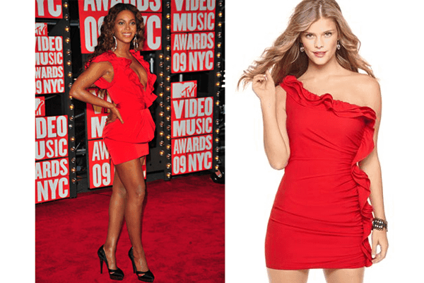 Beyonce in Red