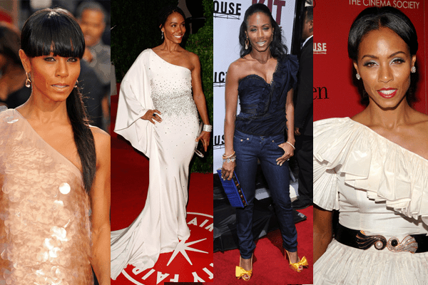 Jada Pinkett Smith One-shoulder Dresses