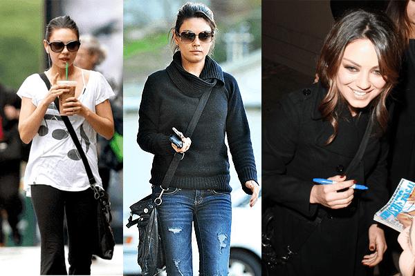 Mila Kunis Cross Body Bag