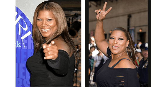 Queen Latifah Smiles