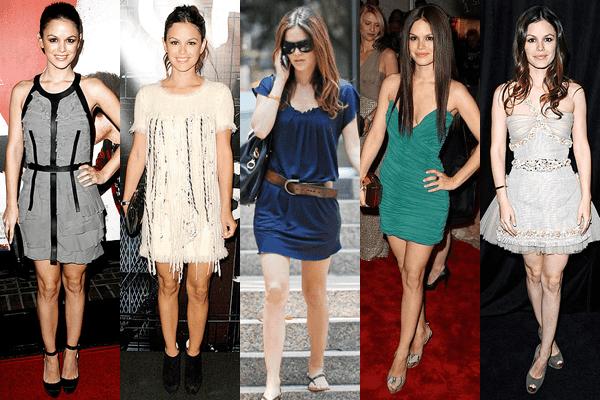 Rachel Bilson Mini Dresses