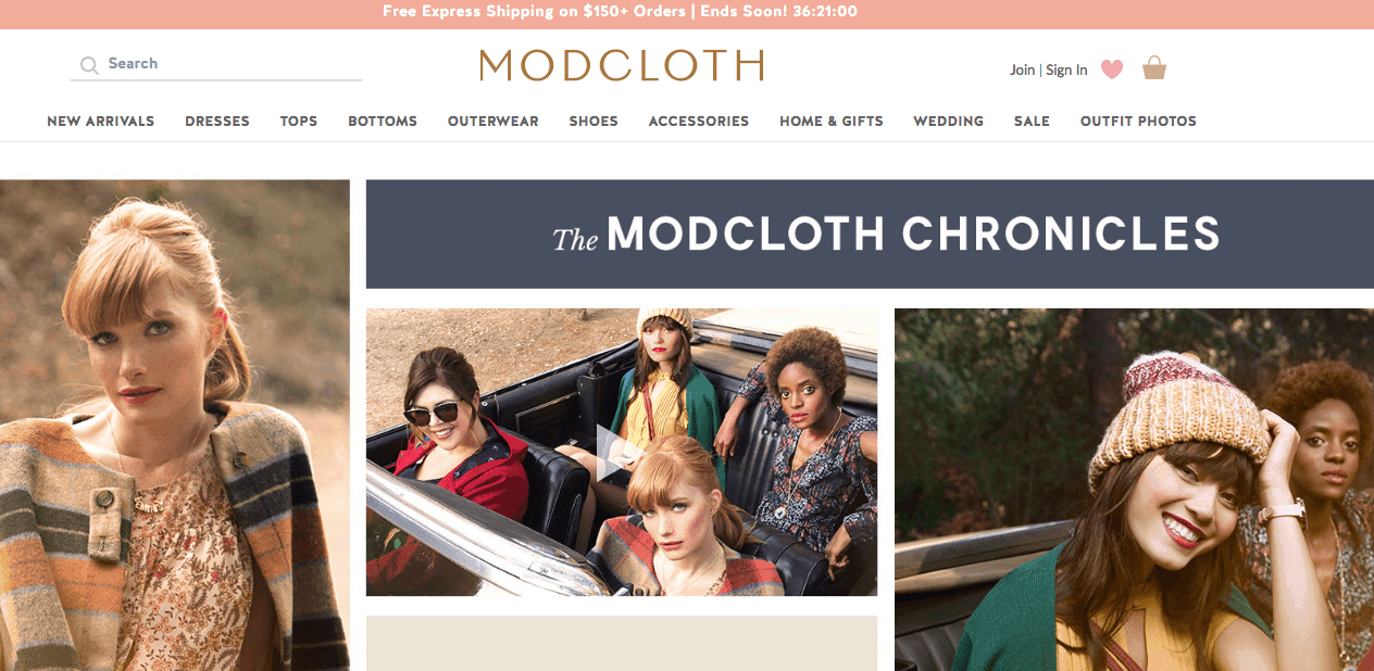 how to shop modcloth