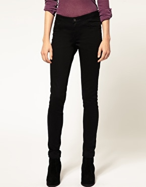 Vila Skinny Black Jeans