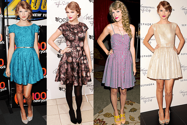 Credit  Bill Davila Startraks  Royca DeGrie Getty Images   Justin    Taylor Swift Fashion Style 2012