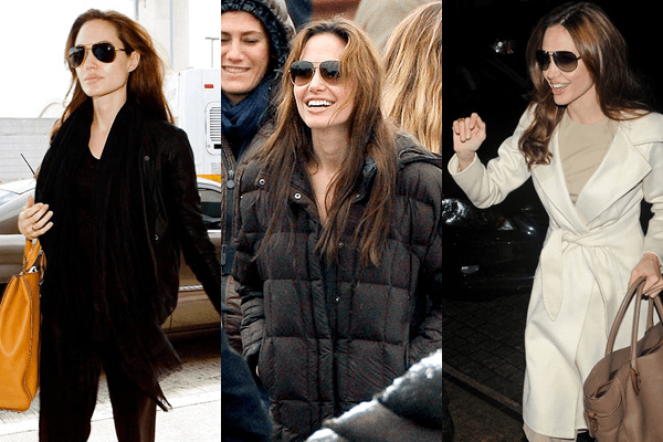 Angelin Jolie Aviators