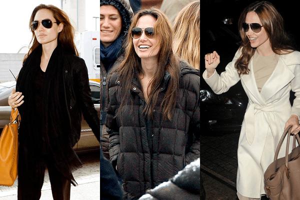 Angelin Jolie Aviators