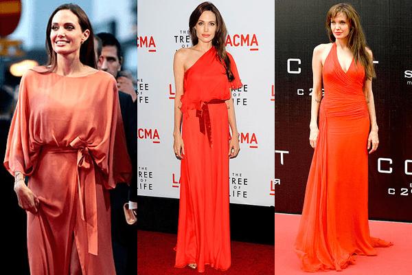 Angelina Jolie Tangerine