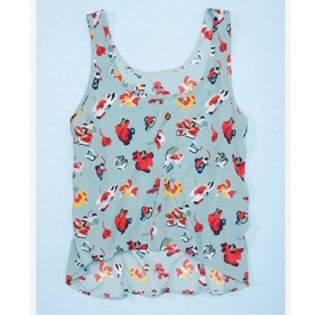 Cropped Tank Polyester