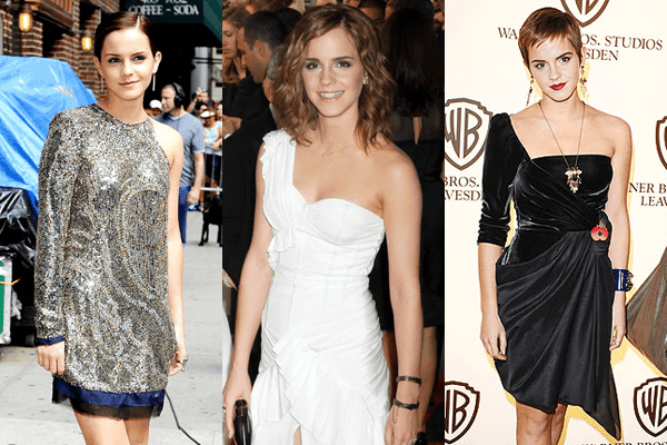 Emma Watson - One Shoulder Dresses