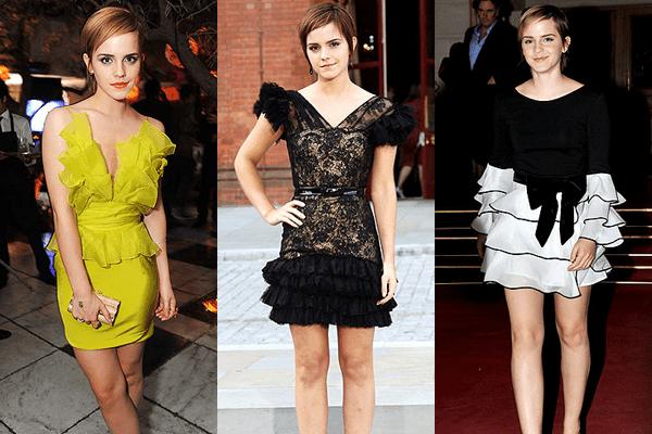 Emma Watson - Ruffles