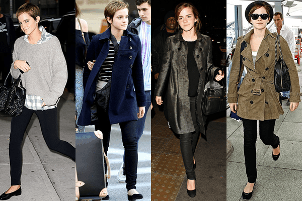 Emma Watson - Skinny Black Pants