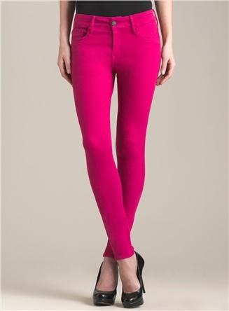 Hot Pink Skinny Jeans - Jon Jean
