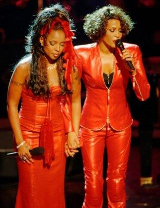 Whitney Houston and Mary J Blige