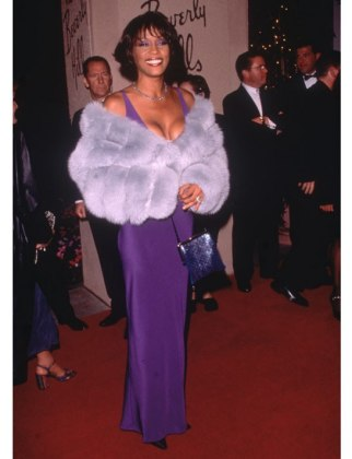 Whitney Houston at the 2000 Grammys