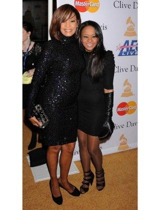 Whitney and Bobbi Kristina