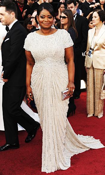 Octavia Spencer at Oscars 2012