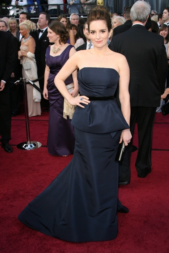 Tina Fey at the Oscars 2012