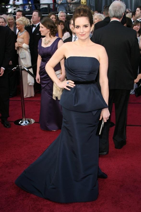 Tina Fey at the Oscars 2012