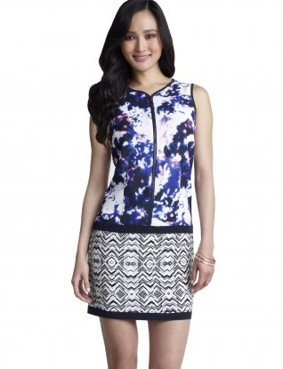Forenza Mixed Print Dress