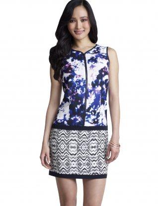 Forenza Mixed Print Dress