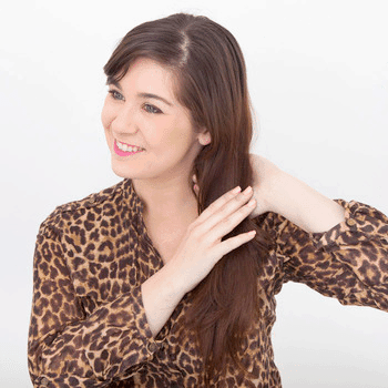 Gather Your Hair to the Side