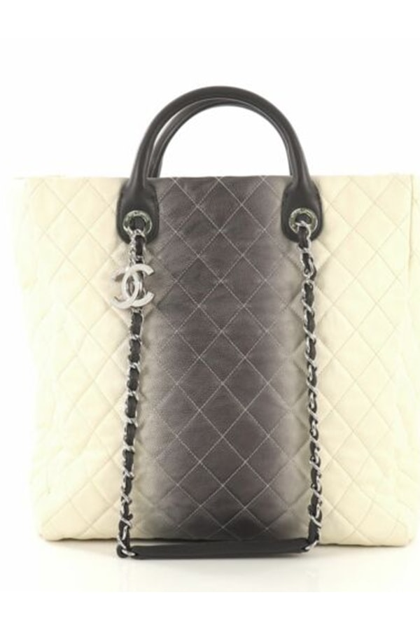 Quilted Chanel Tote