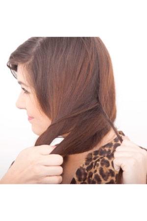 Fishtail braid tutorial step 5